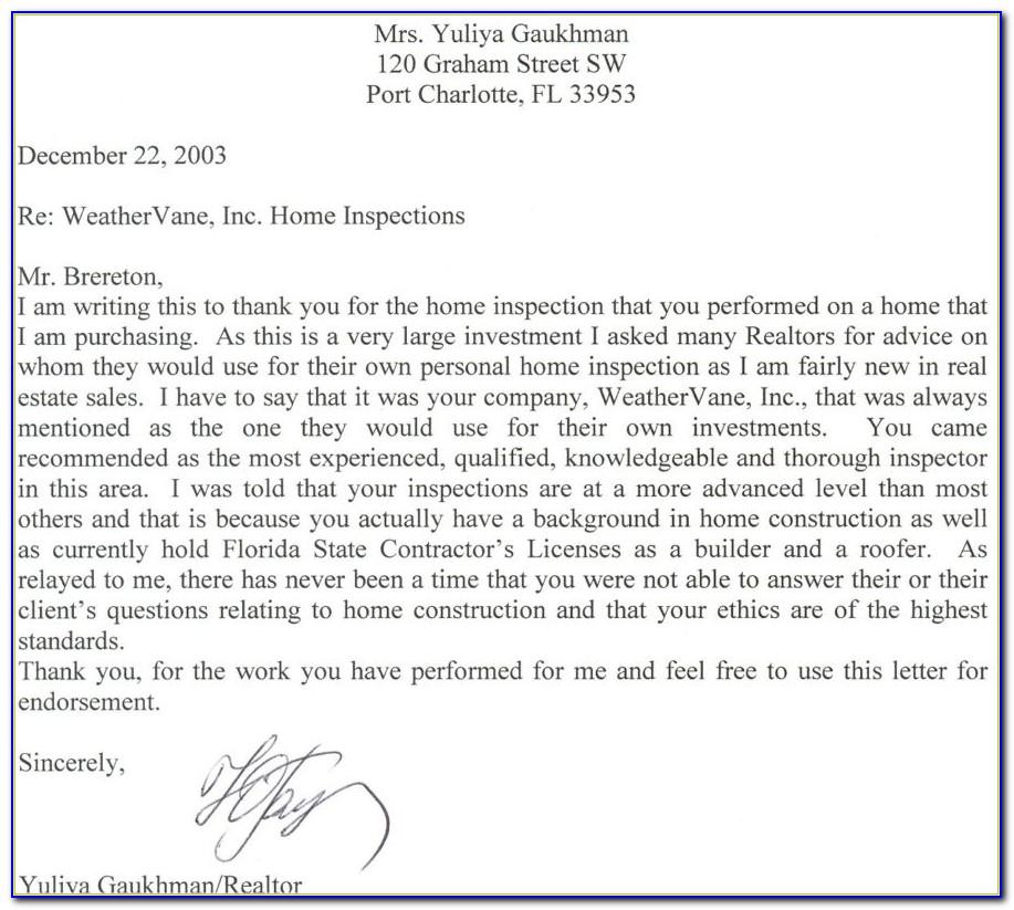 Real Estate Agent Announcement Letter