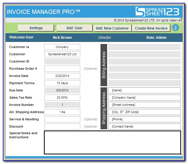 Rts Invoice Manager Login