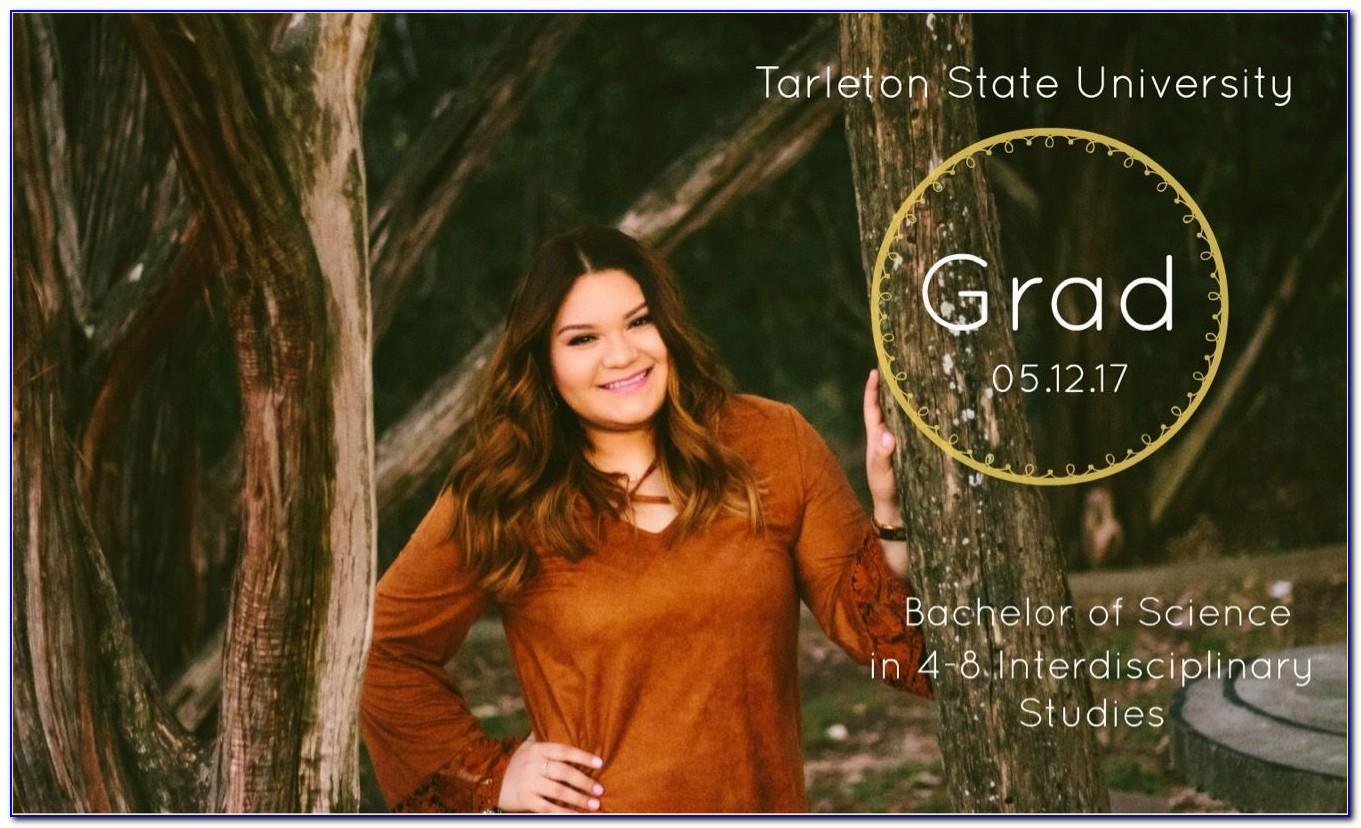 Tarleton State Graduation Announcements