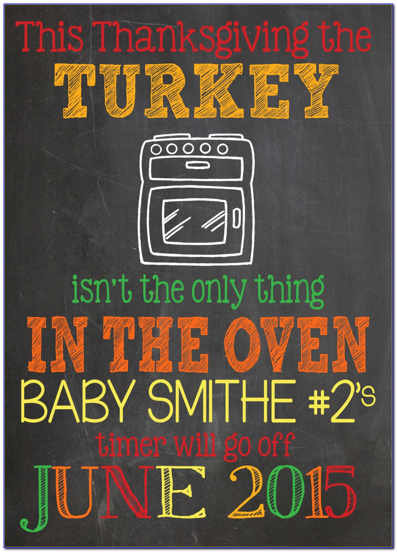 Thanksgiving Pregnancy Announcement Shirt