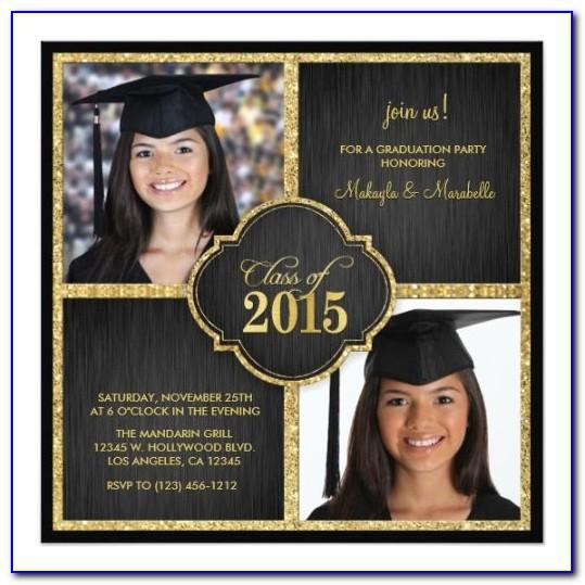 Twin Graduation Announcements