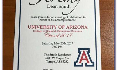 Uah Graduation Announcements