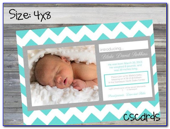 Walgreens Baby Announcements