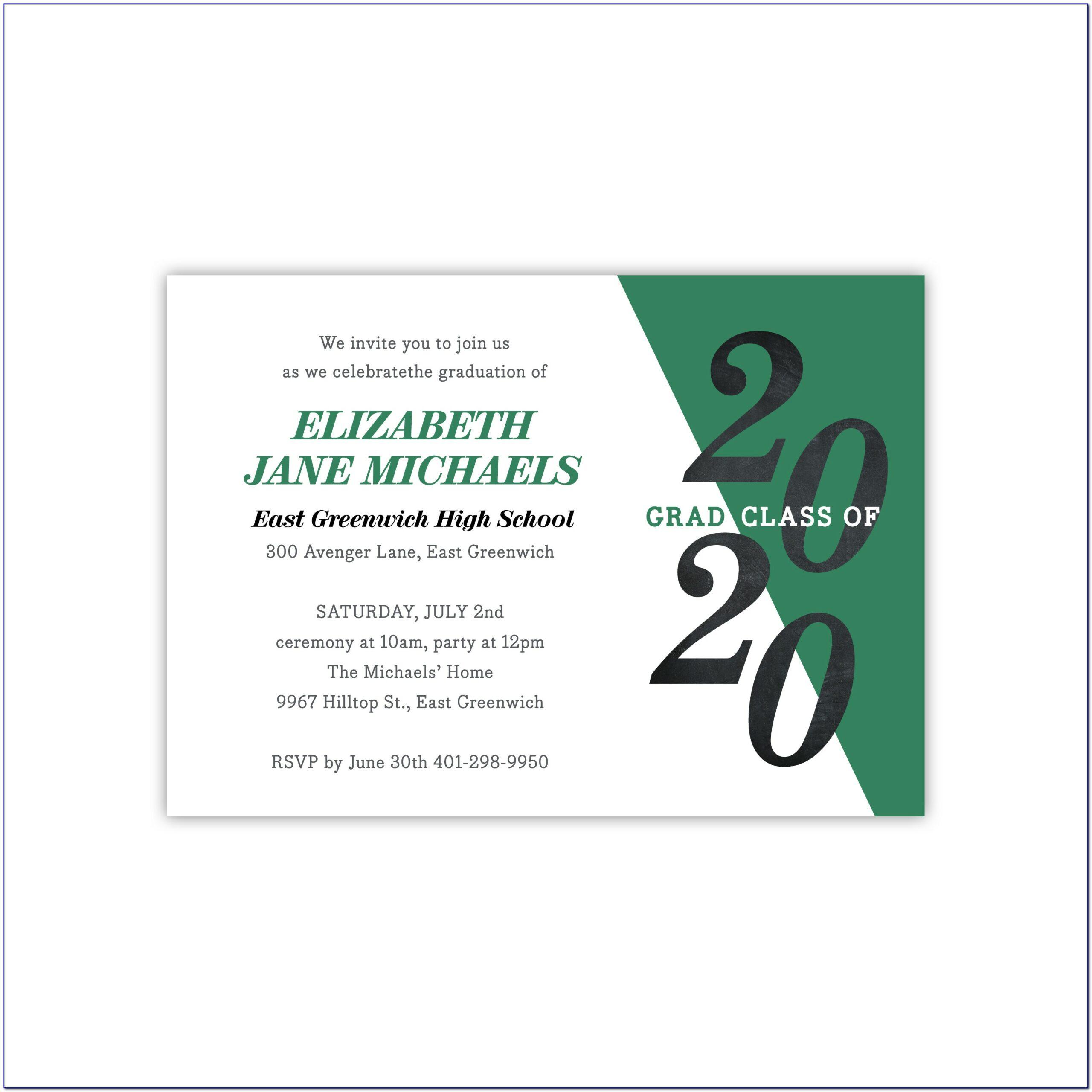Walmart Photo Center Graduation Announcements