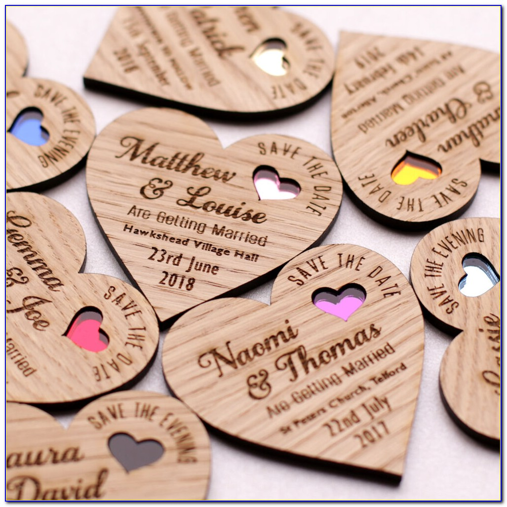 Wedding Announcement Magnets
