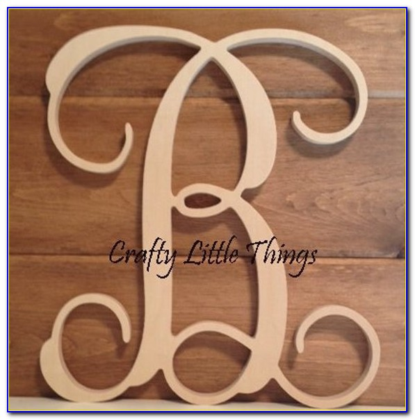 12 Inch Wooden Letters Wholesale