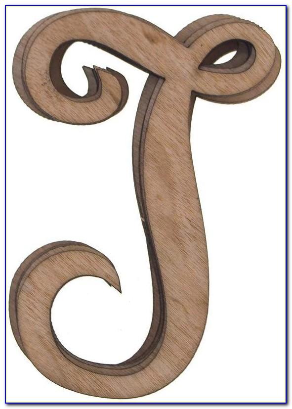 18 Inch Wooden Greek Letters