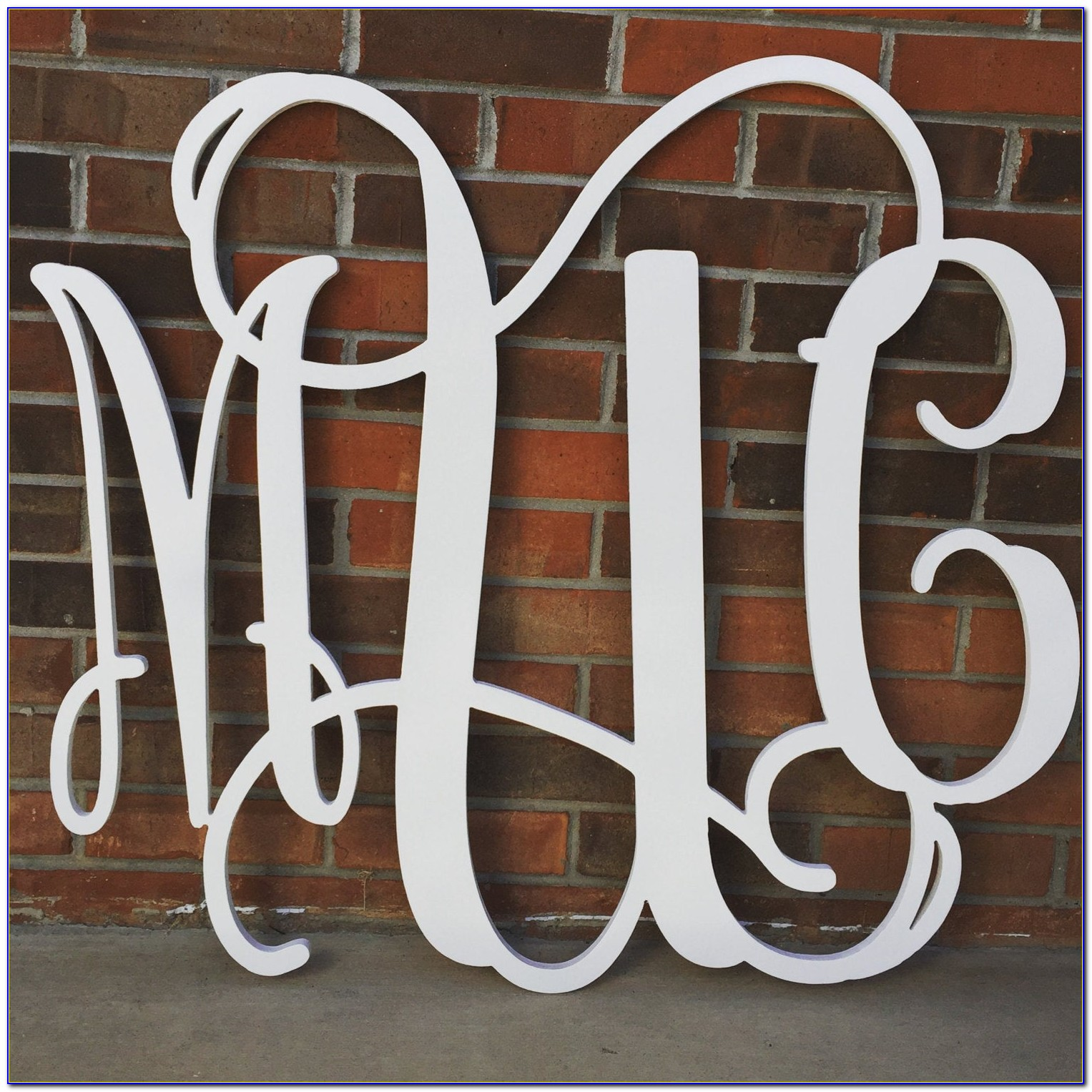 36 Inch Wood Letters