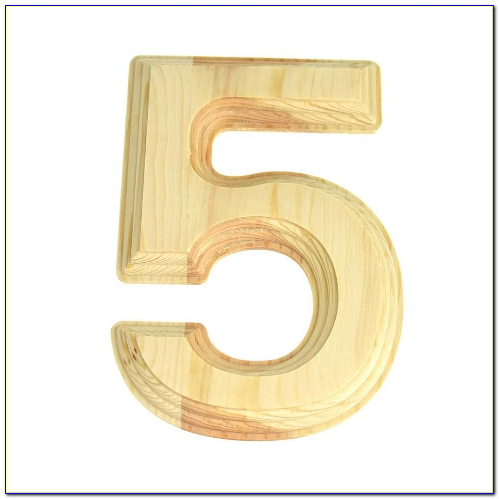 6 Inch Unfinished Wooden Letters