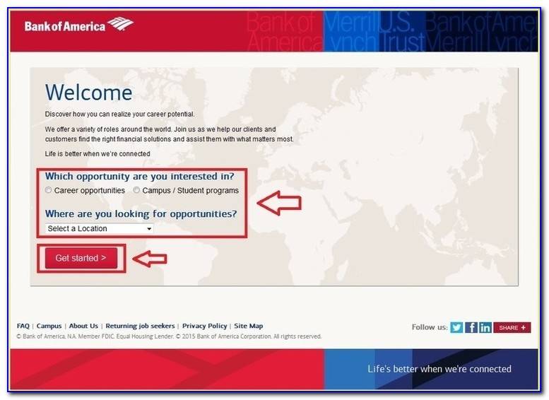 Bank Of America Job Application Asking For Social Security Number