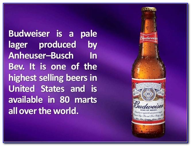 Budweiser Job Application