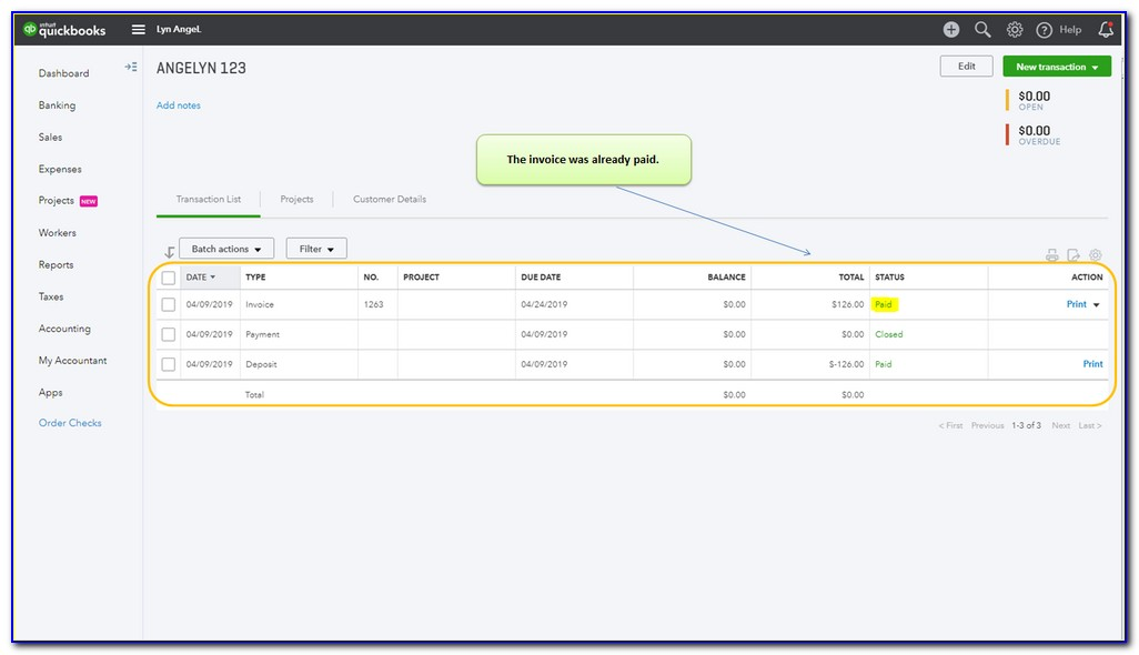 Can You Unvoid An Invoice In Quickbooks