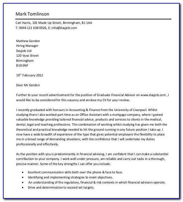 Entry Level Healthcare Cover Letter Samples