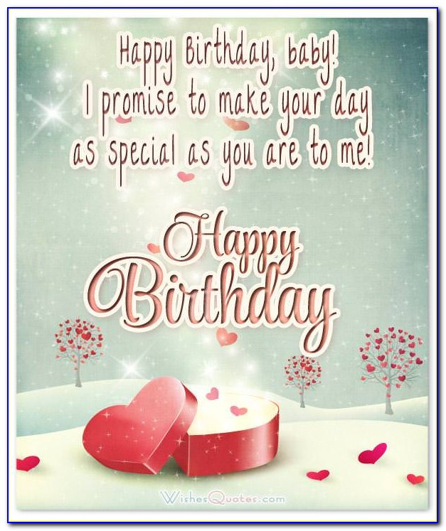 Happy Birthday Love Letter To Girlfriend