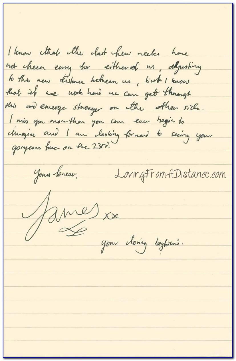 Long Distance Love Letters Tumblr
