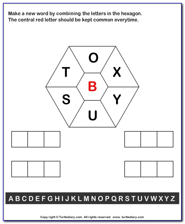 Make A Word Using These Letters Scrabble