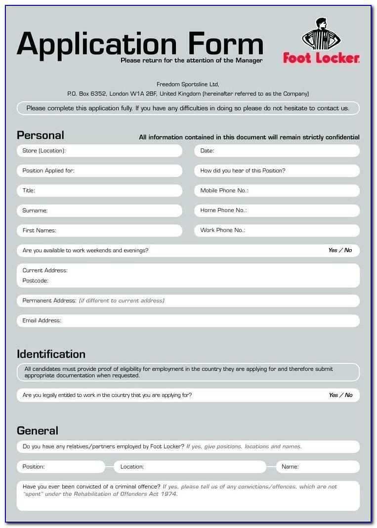 Mcdonalds Jobs Application Form Online Uk