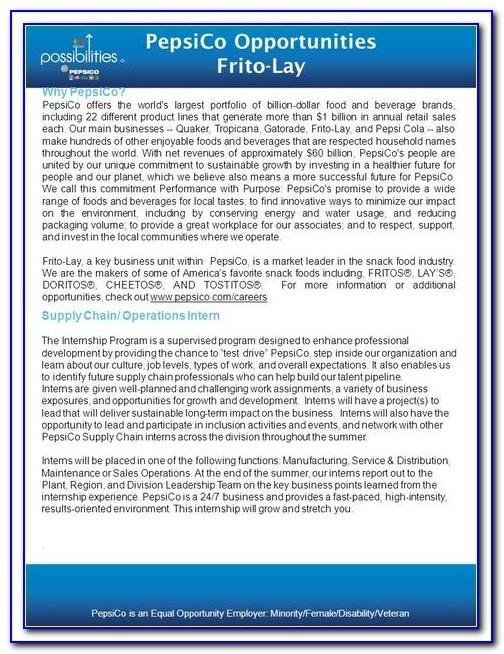 Pepsico Job Application Status
