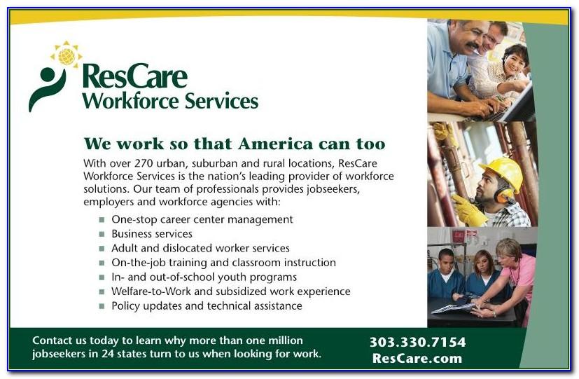 Rescare Job Application Online