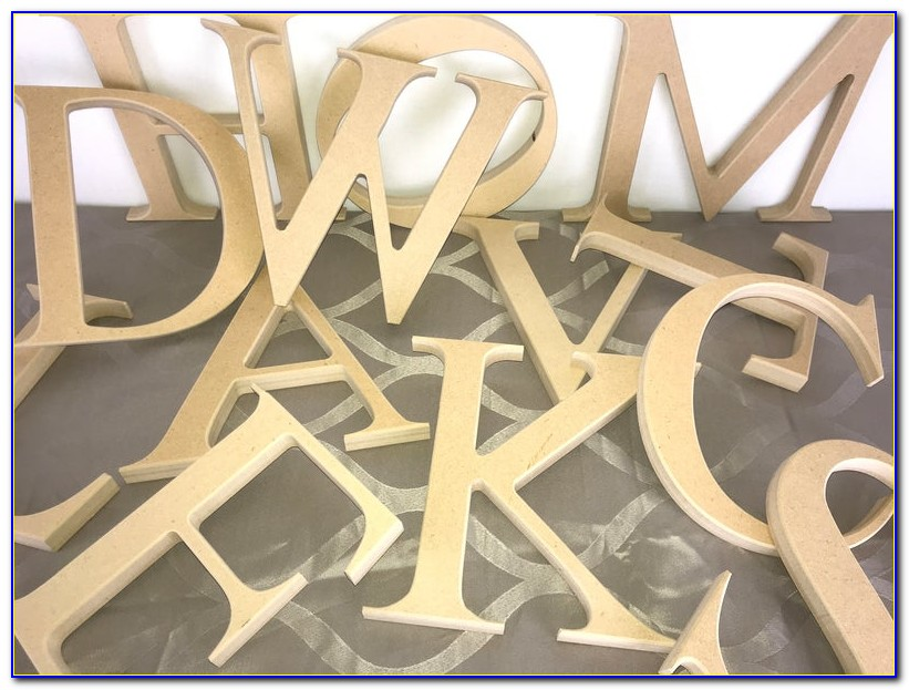 Unfinished Wood Letters Wholesale