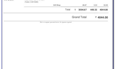 What Is The Meaning Of Invoice Email In Flipkart