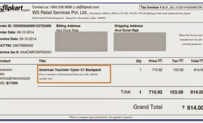 What To Fill In Invoice Email In Flipkart