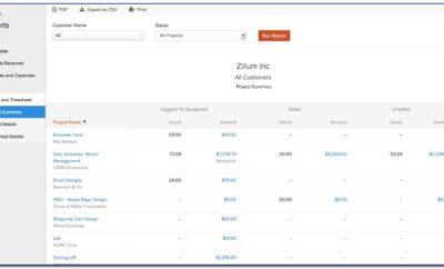 Zoho Invoice Vs Freshbooks